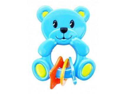Rappa Hrkálka Medveď New modrý