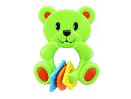 Rappa hrkálka Medveď New zelený