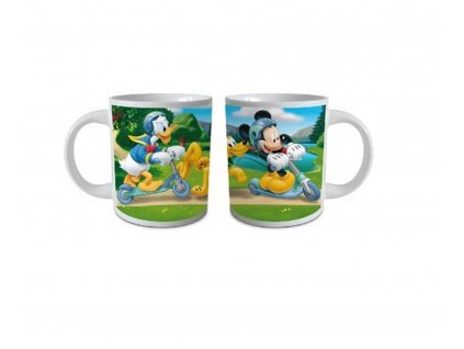 Detský hrnček Mickey Mouse na kolobežke 237 ml