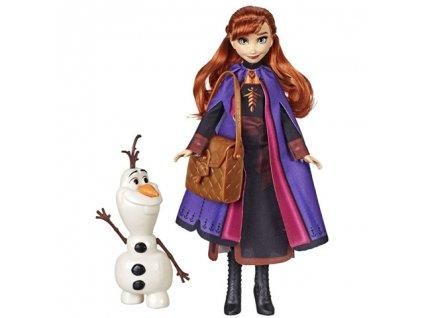 Hasbro - Frozen 2 Bábika Anna a Olaf 30 cm E666