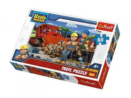Trefl puzzle Bob Staviteľ 60 dielikov