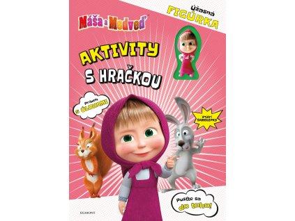 Máša a medveď - Aktivity s hračkou