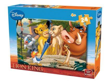 King puzzle Leví Kráľ 24 dielikov