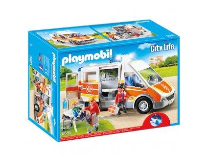 Playmobil 6685 Sanitka s majákom húkačkou