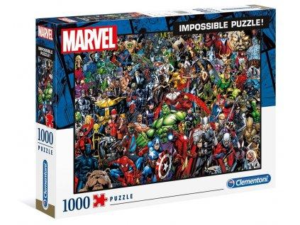 Clementoni Impossible puzzle Marvel 1000 dielikov