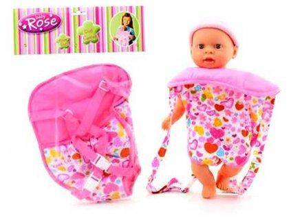 Baby Rose Nosič pre bábiky