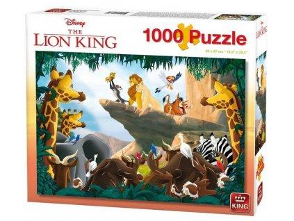 King puzzle Leví kráľ 1000 dielikov
