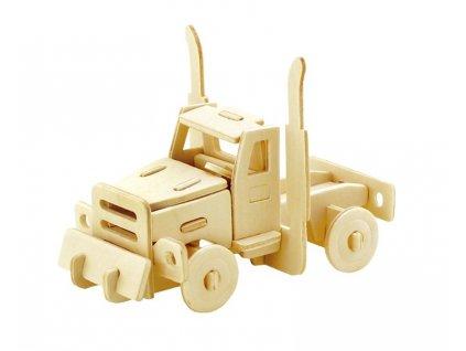 Gerardo's Toys 3D puzzle Ťahač