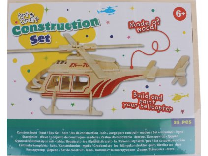 Free and Easy 3D puzzle Helikoptéra