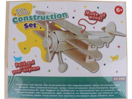 Free and Easy 3D puzzle Lietadlo