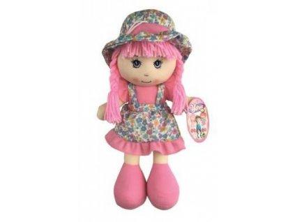 Dino Trading Handrová bábika ružová 35 cm
