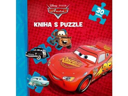 Autá - Kniha puzzle - 30 dielikov