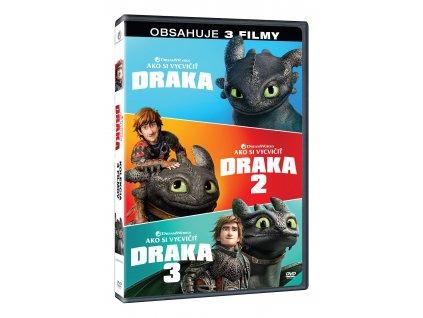 DVD Kolekcia filmov - Ako si vycvičiť draka 1-3
