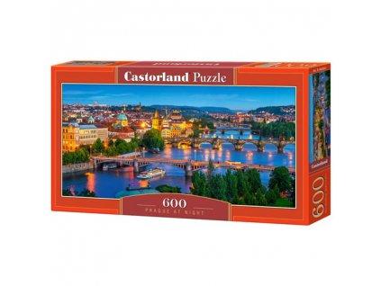 Castorland puzzle - Praha v noci 600 dielikov