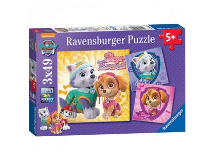 Ravensburger puzzle Sky a Everest 3 x 49 dielikov