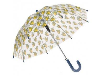 Detský transparentný dáždnik Krokodíl 58 cm