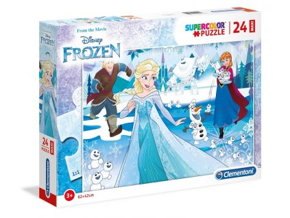 Clementoni Maxi puzzle Frozen 24 dielikov