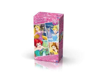Spin Master penové puzzle Disney princess 12 dielikov