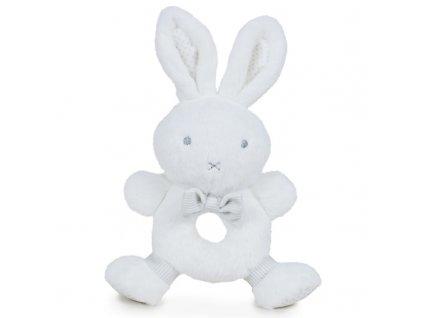 Play by Play plyšový zajačik Bonnie s hrkálkou 22 cm
