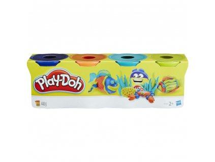 Hasbro Play-Doh Modelina sada 4 kelímky 448 g