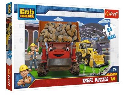 Trefl Maxi puzzle Bob Staviteľ 24 dielikov