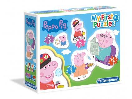 CLementoni My First Puzzles - Prasiatko Peppa 4v1