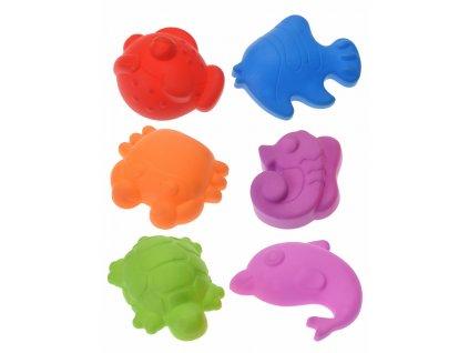 Free and Easy - Formičky do piesku Morské zvieratká 6 ks
