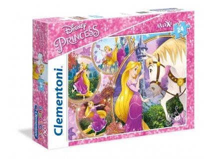 Clementoni MAXI puzzle - Rapunzel 24 dielikov