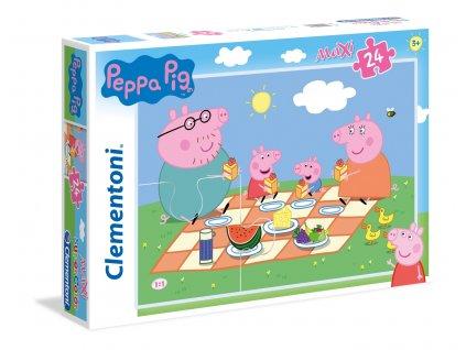 Clementoni Maxi puzzle - Peppa na pikniku 24 dielikov