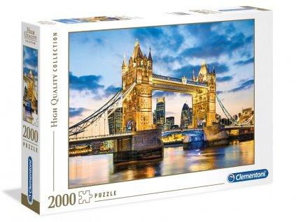 Clementoni puzzle Tower Bridge 2000 dielikov