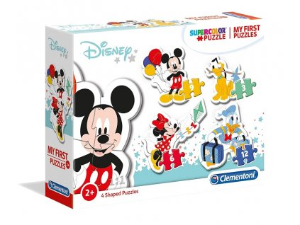 Clementoni My First Puzzles - Mickey 4v1