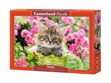Castorland puzzle Mačiatko 500 dielikov