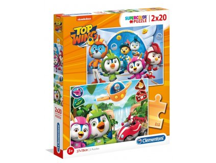Clementoni puzzle Top Wing 2x20 dielikov