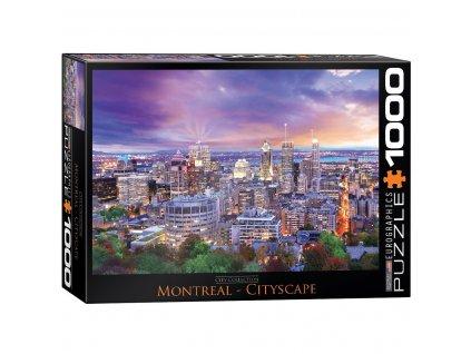 Eurographics puzzle Montreal 1000 dielikov