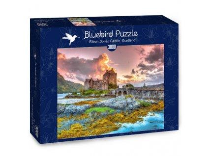 Bluebird puzzle Eilean Donan Castle 3000 dielikov