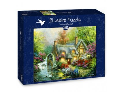 Bluebird puzzle Domček na kraji lesa 3000 dielikov