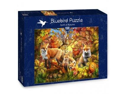 Bluebird puzzle Líštičky 1500 dielikov