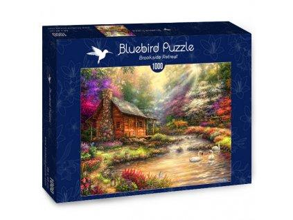 Bluebird puzzle Domček pri potoku 1000 dielikov