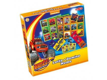 Tactic 3v1 Blaze - Pexeso + Domino + Loto