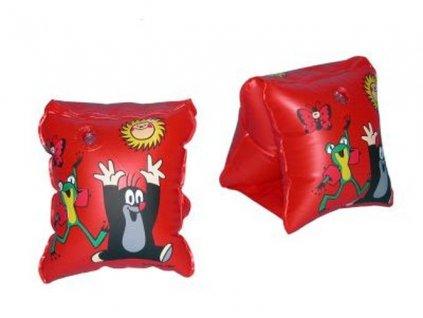 Wiky - Detské rukávniky Krtko (červené)