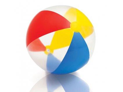 INTEX - Lopta Červená-Žltá-Modrá 51 cm