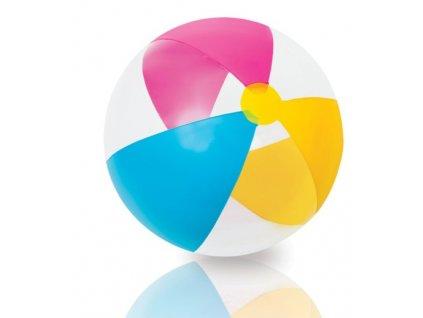 INTEX - Lopta Ružová-Žltá-Modrá 61 cm