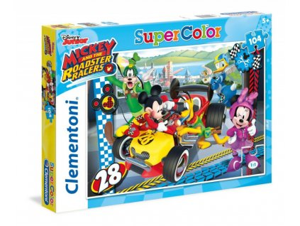 Clementoni puzzle Mickey a Minnie 104 dielikov