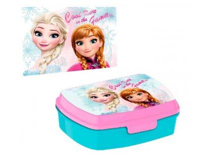 Desiatový box Frozen + uteráčik