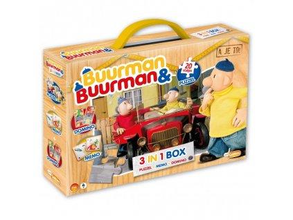 Just Games - A je to! sada 3v1 (puzzle, domino, pexeso)