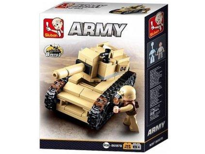 Sluban Army: Púštny tank (M38-B0587B)