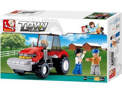 Sluban Farm: Traktor (M38-B0556)