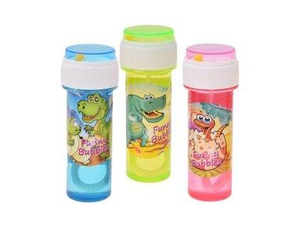 Detský bublifuk dinosaurus - 60 ml