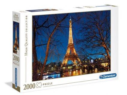 Clementoni puzzle Eiffelova veža od Seiny 2000 dielikov