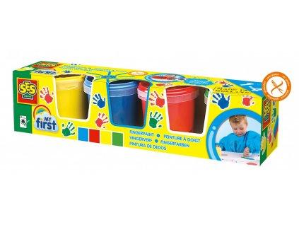 SES Creative - Moje prvé prstové farby set 4 x 145 ml
